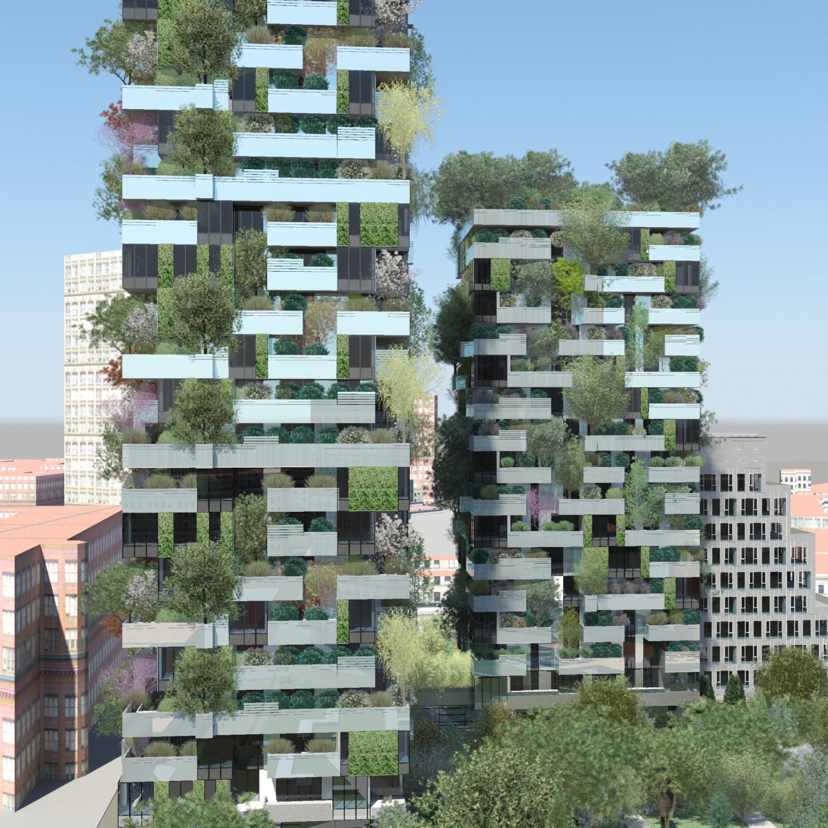 Il bosco verticale grattacielo pi bello al mondo for I nuovi grattacieli di milano
