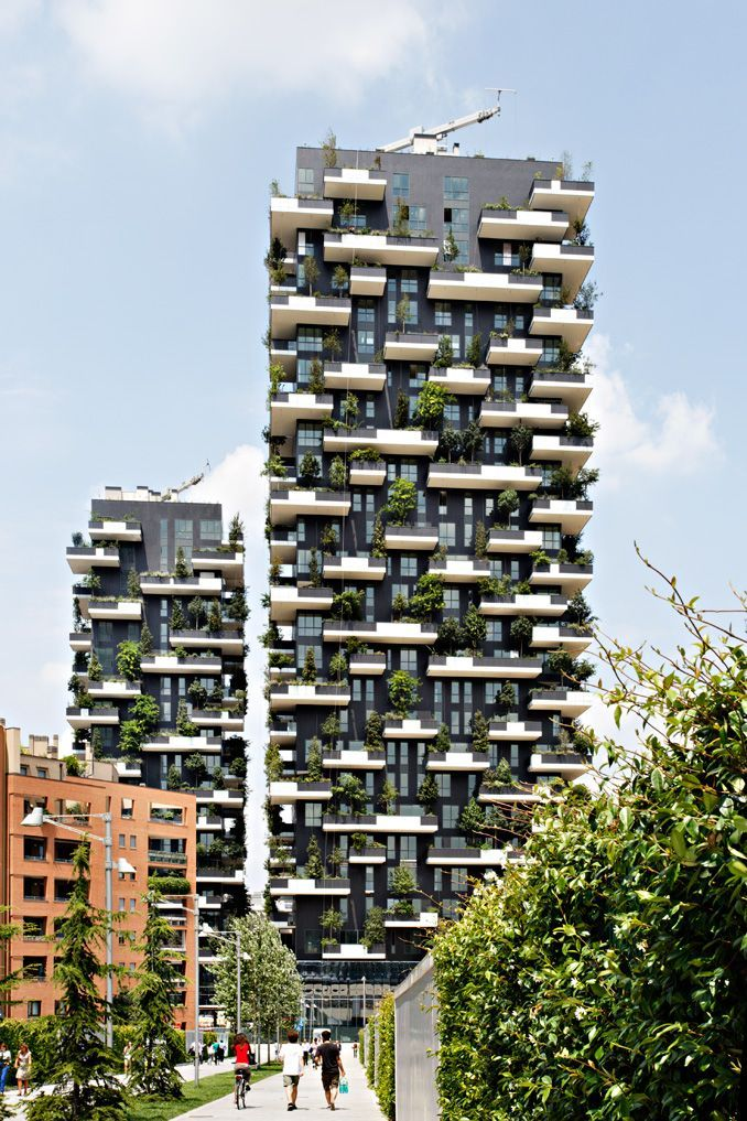 Il bosco verticale grattacielo pi bello al mondo for Giardino 54 nyc