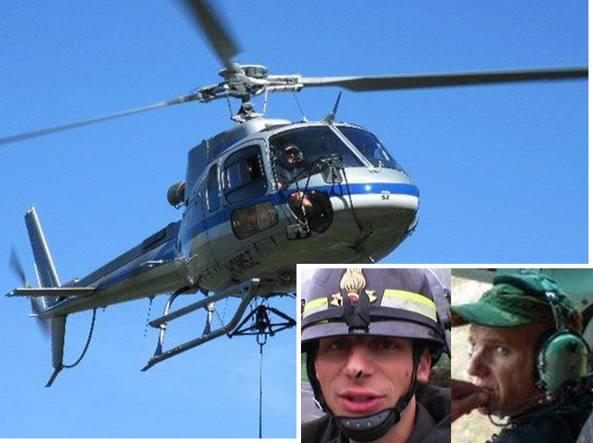 Elicottero Nero E Giallo : Trovato l elicottero scomparso morti il giallo della
