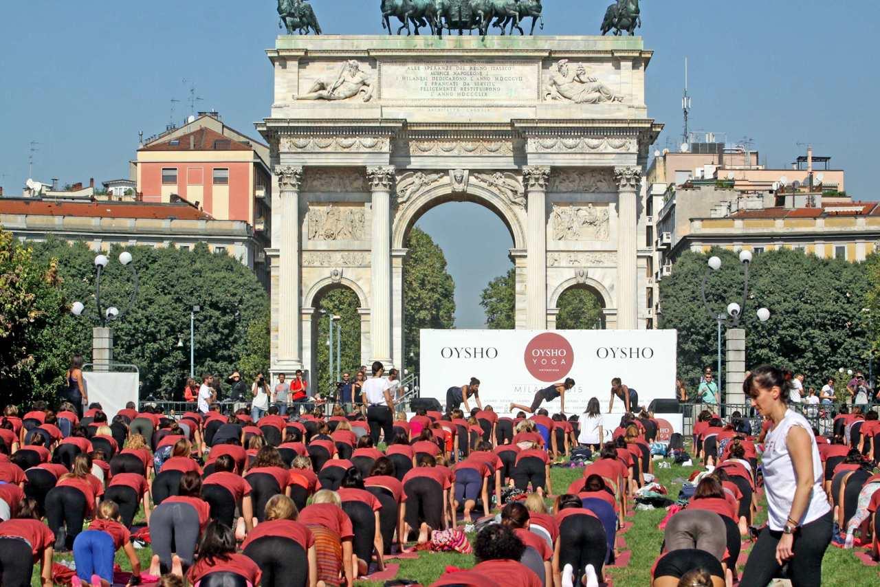 Yoga al parco sempione - Parco mamma anna cucine ...