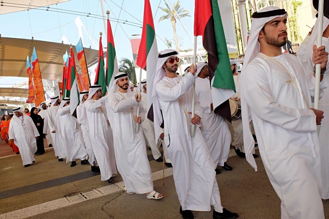 Aeroporto Emirati Arabi : Expo il national day degli emirati arabi corriere