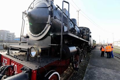 Il vecchio deposito treni, dove le carrozze facevano il tagliando
