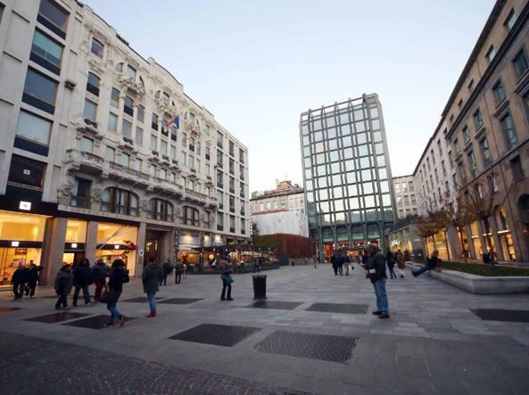 In piazza del Liberty sorger� il nuovo megastore Apple (Fotogramma)