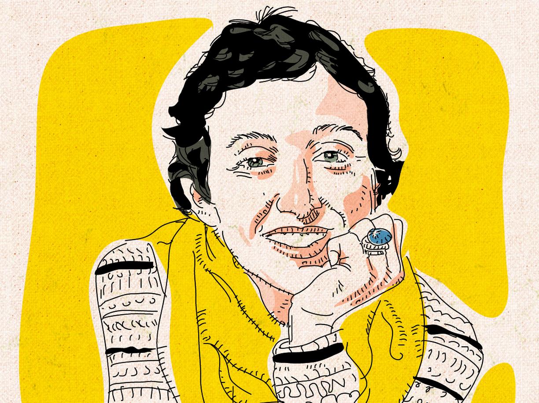 Francesca Balzani vista da Guido Rosa