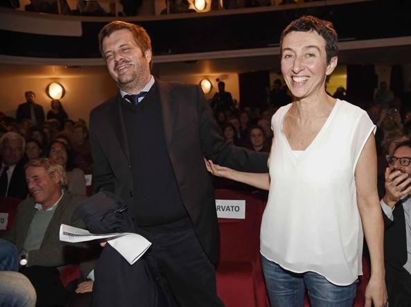 Pierfrancesco Majorino e Francesca Balzani (LaPresse)