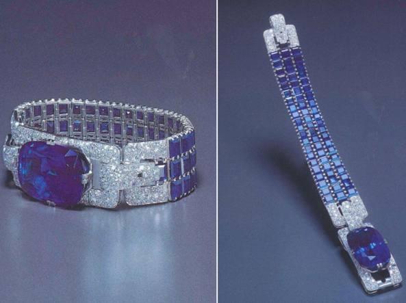 Il bracciale di Cartier rubato nel 1996 a Milano