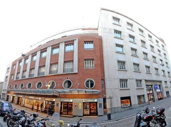 Il cinema Anteo di via Milazzo (Fotogramma)