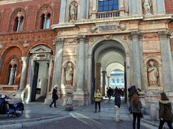 L'Universit� degli Studi di Milano (Fotogramma)