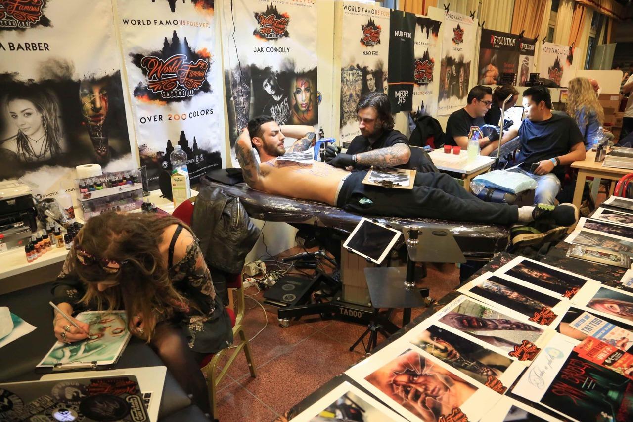 Tattoo convention a milano for Quark hotel milano