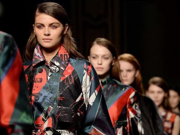 L'edizione 2015 di Milano Moda Donna (foto Ansa)
