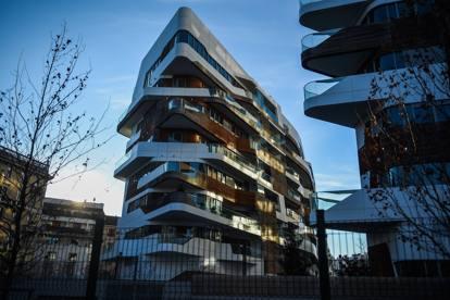 Milano citylife nelle residenze hadid il cedro di lusso for Quartiere city life