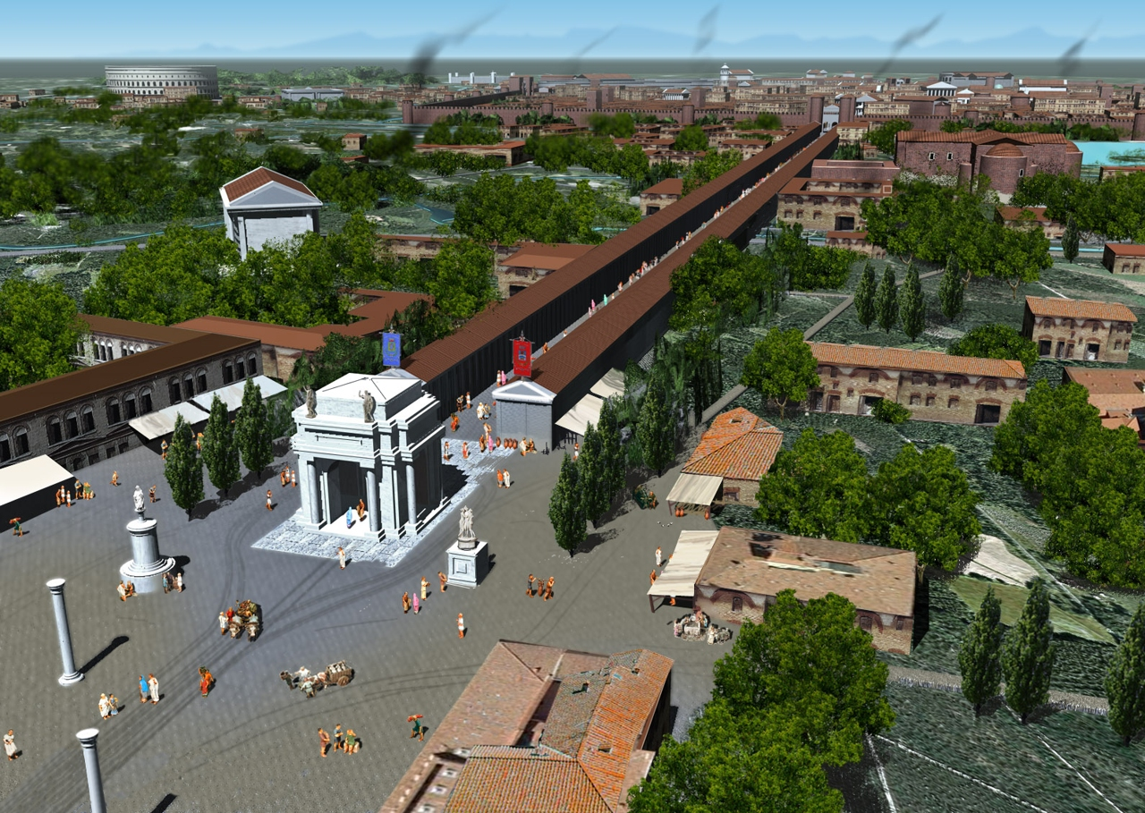 L 39 antica mediolanum rivive al computer - Corso di porta romana 16 milano ...