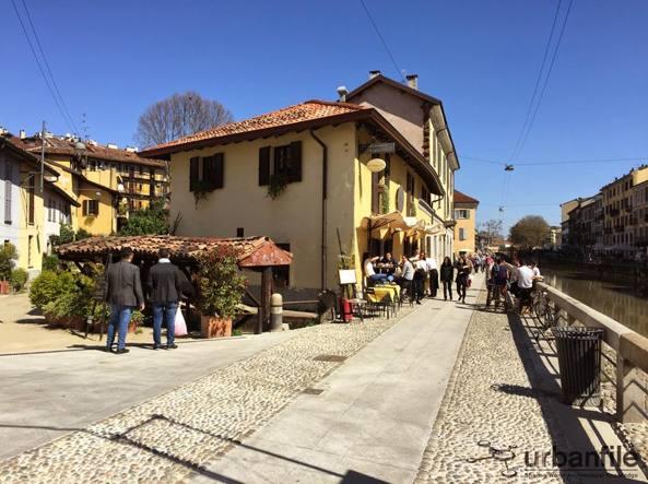 Vicolo dei Lavandai in una bella foto dal blog Urbanfile (blog.urbanfile.org)