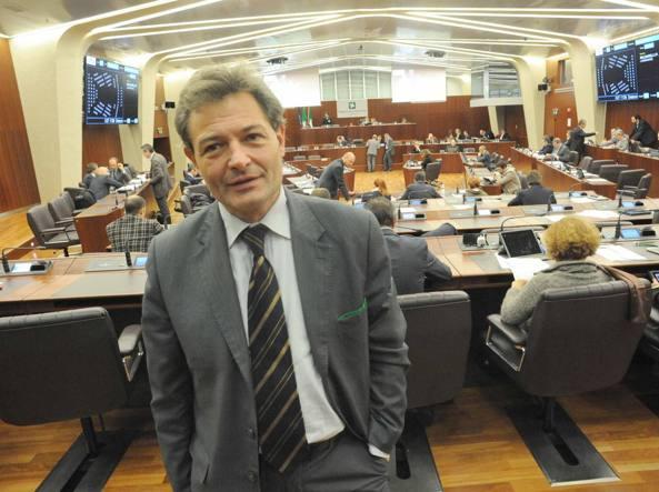 Fabio Rizzi in Consiglio regionale (Cavicchi)