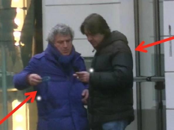 Alberto Fiorentino, già in carcere, e il complice ora arrestato Alfredo Montefusco