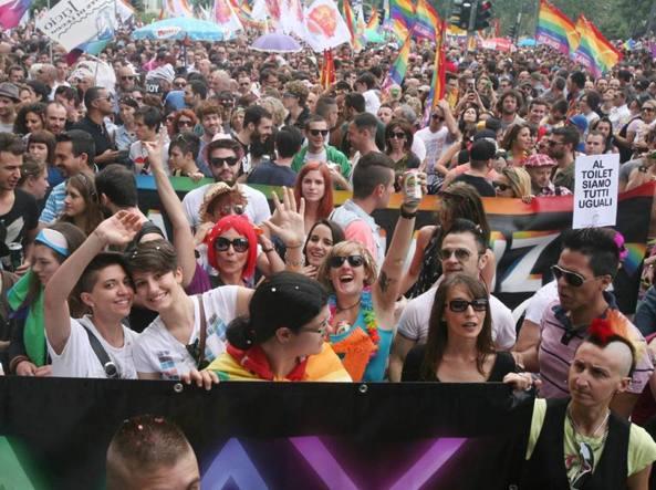 Gay pride, foto d'archivio