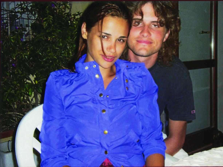 Alex e Gorana, la ex moglie croata