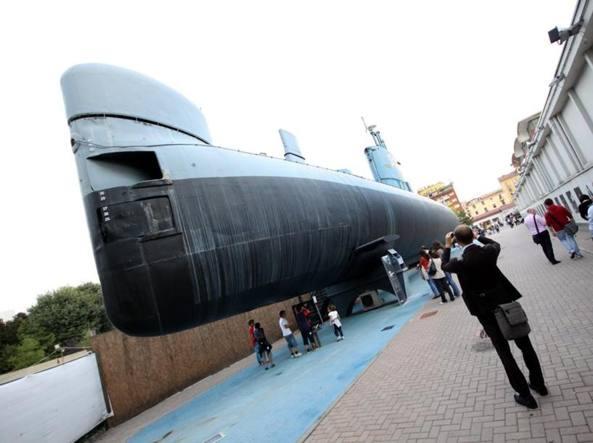 Il sottomarino Enrico Toti, al Museo della Scienza