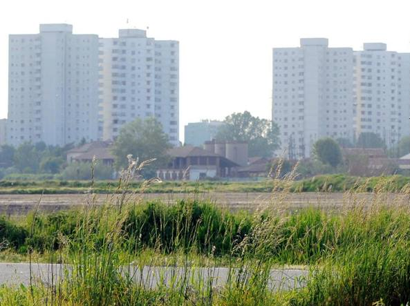 Case popolari al Gratosoglio (Fotogramma)