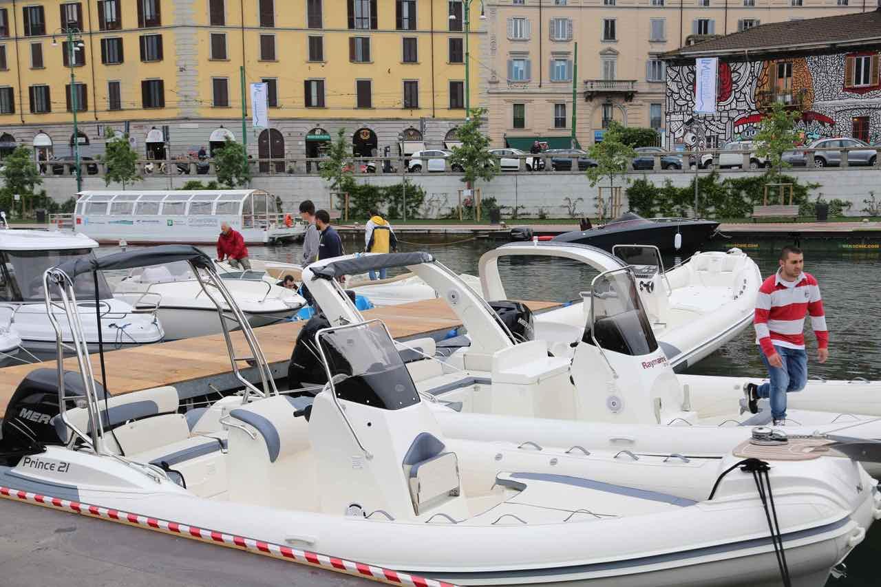 Darsena torna il salone della nautica for Il salone milano