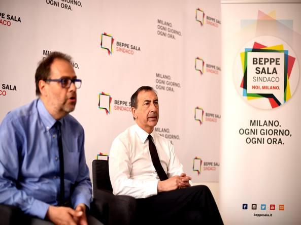 Marco Granelli e Giuseppe Sala (Photoviews)