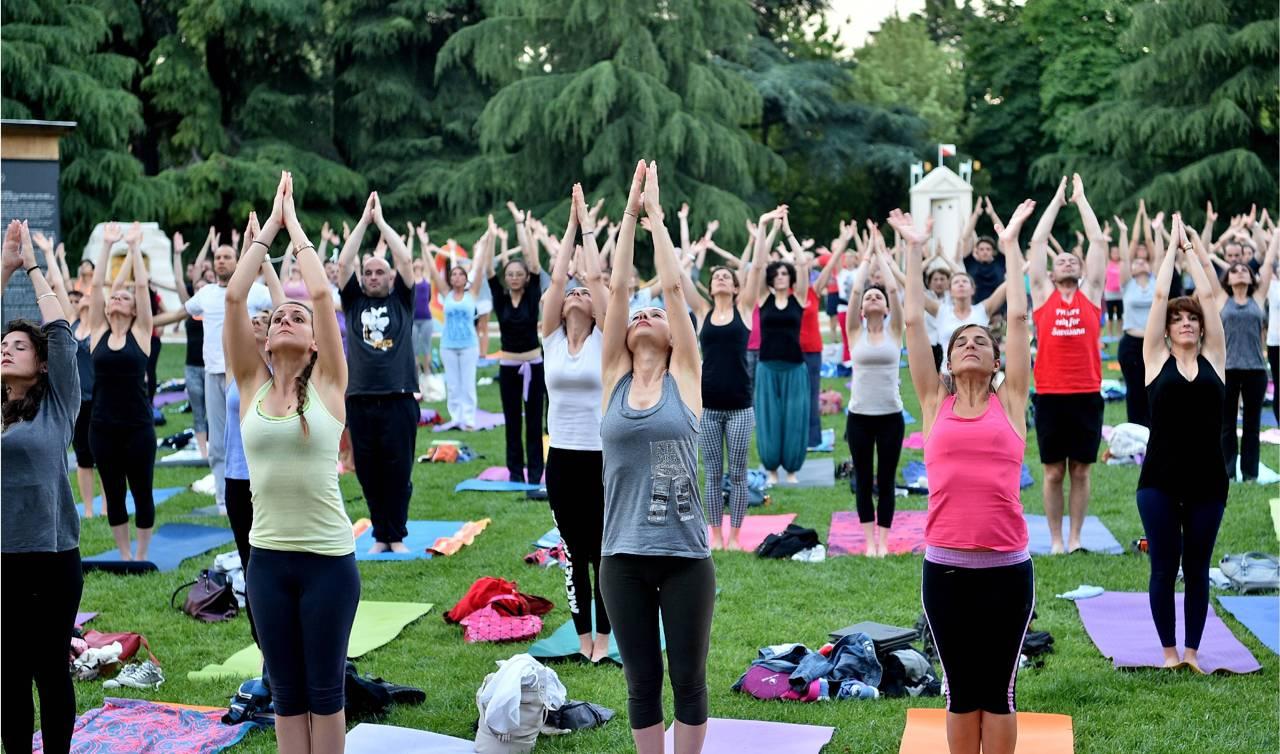 La giornata mondiale dello yoga for Giardino triennale
