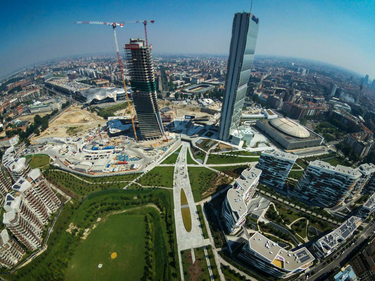 Dentro al cantiere di citylife for Centro commerciale city life milano