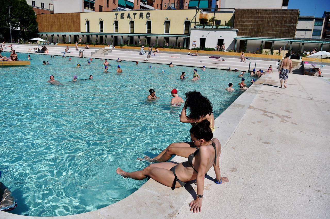 la piscina «bagni misteriosi» aperta al pubblico - corriere.it