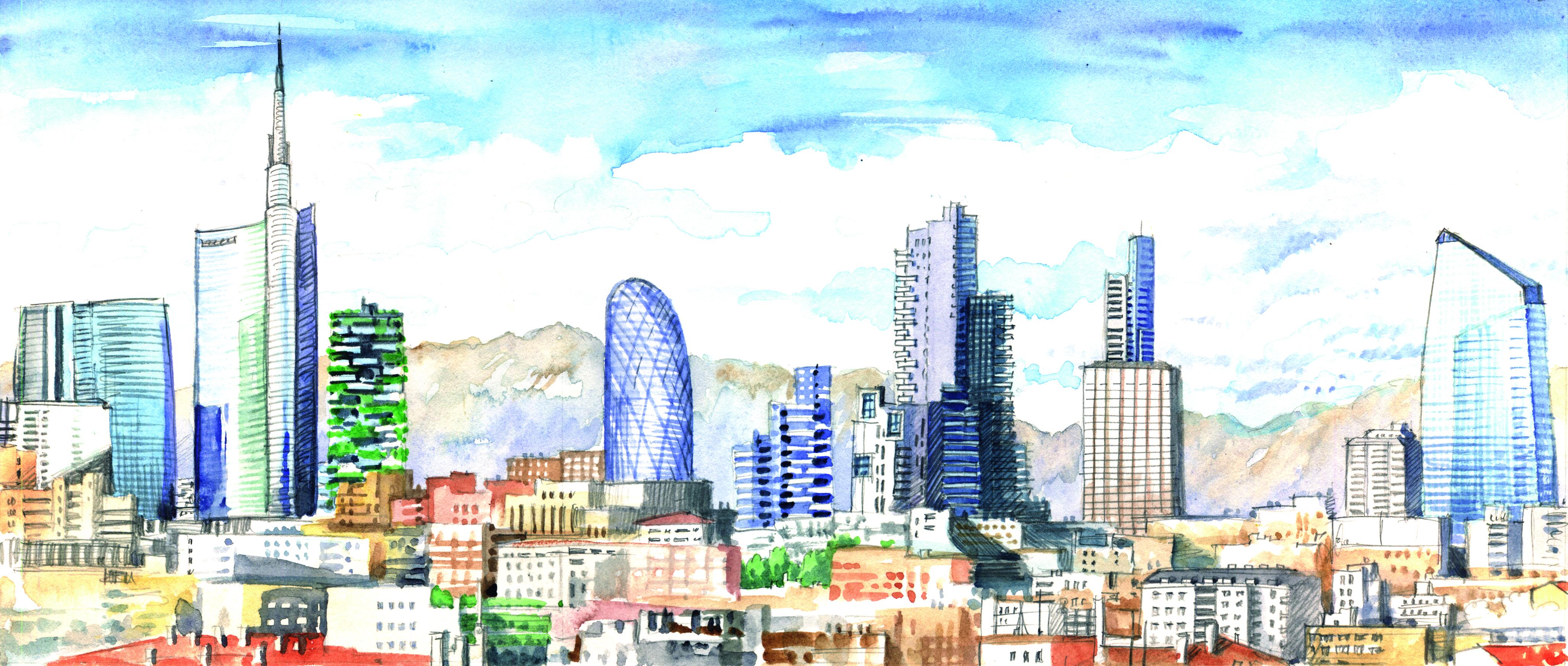 Unipol il grattacielo di 23 piani che cambier lo skyline for Piani di palazzi contemporanei