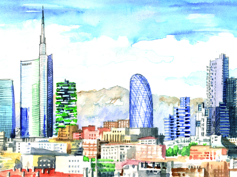 Unipol il grattacielo di 23 piani che cambier lo skyline for Piani di palazzi di 2 piani