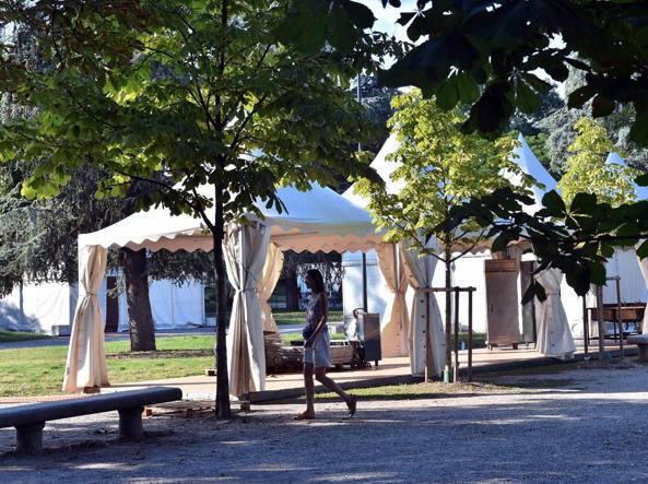 La festa del 2015 ai Giardini Montanelli (Fotogramma)