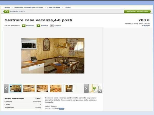 Case vacanza inesistenti, 600 vittime delle false offerte online