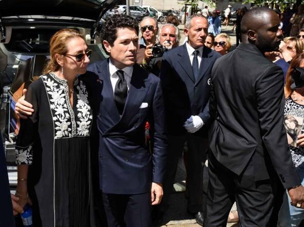 Funerali a Milano per Marta Marzotto