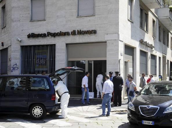 Rapina in banca a Milano: scavano tunnel per arrivare al caveau