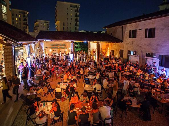 Il cortile di Mare Culturale Urbano