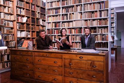 un cocktail futurista alla pontremoli: una nuova casa per i libri ... - Libreria Antiquaria A Milano