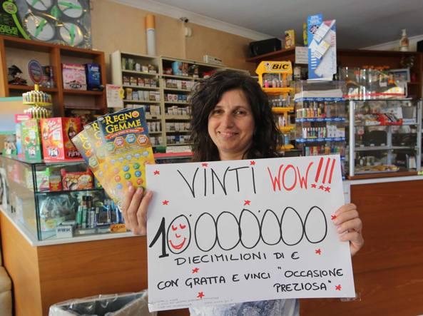 Gratta e vinci, dieci milioni a Desio