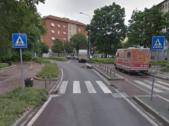 Piazza Selinunte a Milano