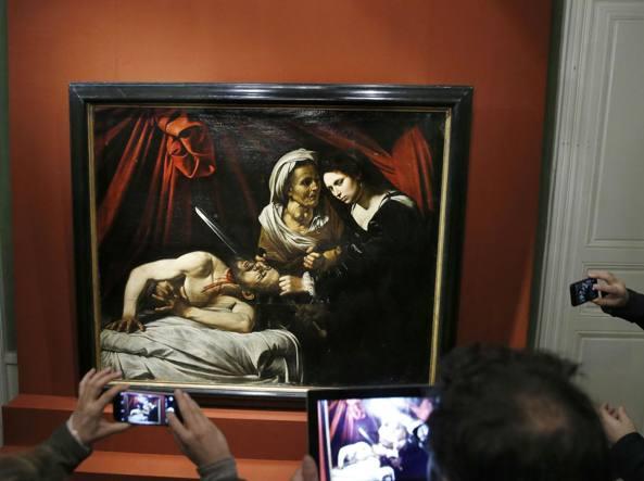 Il dipinto «Giuditta e Oloferne» attribuito a Caravaggio sarà esposto insieme ad altre opere nelle sale della Pinacoteca di Brera dal 7 novembre