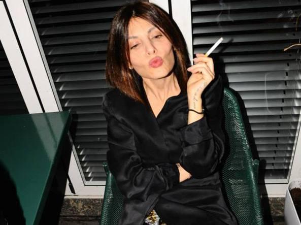 Francesca Persi, 40 anni, laureata, separata, due figli, era la prestanome di Fabrizio Corona
