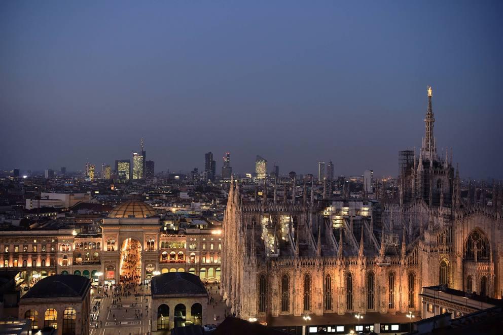 Il tramonto (mozzafiato) con vista sul Duomo dalla Terrazza ...