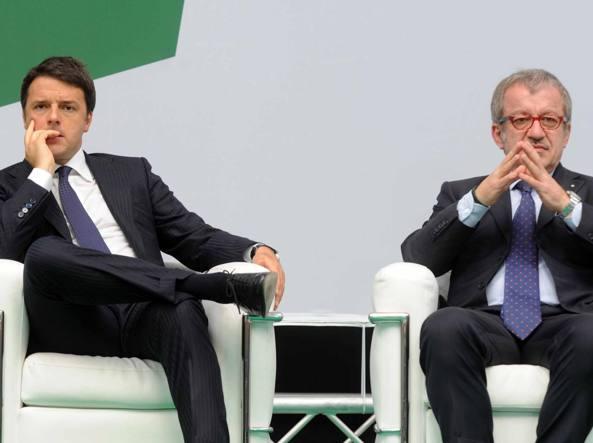 Renzi, giorno gioia per patto Lombardia