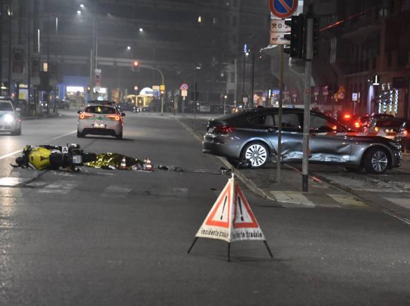 Milano. Incidente in viale Severino Boezio morto centauro di 47 anni