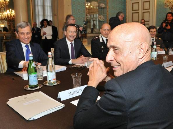 Ascoli Piceno, il Ministro Minniti ad Arquata del Tronto