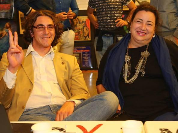 Gianluca Corrado e Patrizia Bedori (Fotogramma)