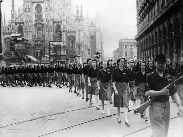 Un'immagine del 31 luglio del 1944