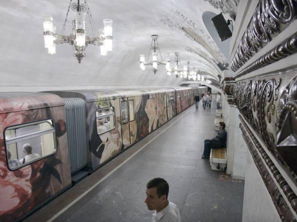 La metropolitana di Mosca (Reuters)