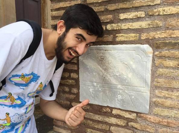 Luca Adami, 21 anni, studente,  aveva corso per la Consulta Giovani del Comune