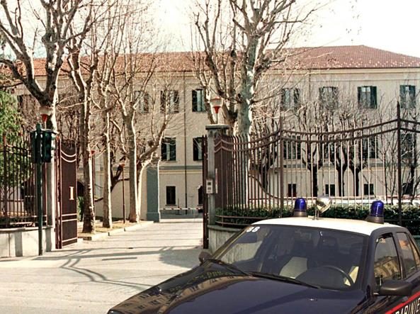 Detenuto evade dal carcere di Frosinone