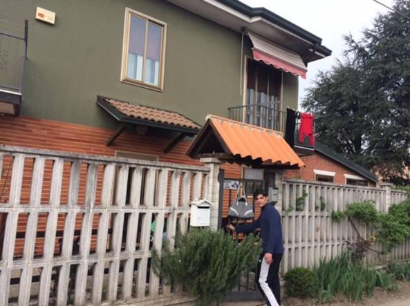 L'abitazione della pensionata aggredita dal suo cane a Gaggiano